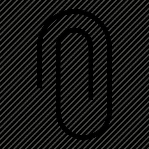 attach, attachment, document, paper, paperclip icon