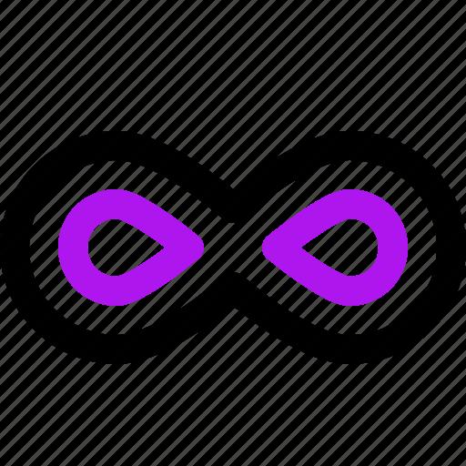 arrow, infinite, interaction, interface, user icon