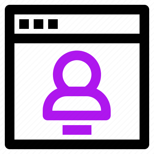 arrow, interaction, interface, user icon