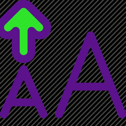 arrow, increase, interaction, interface, user icon