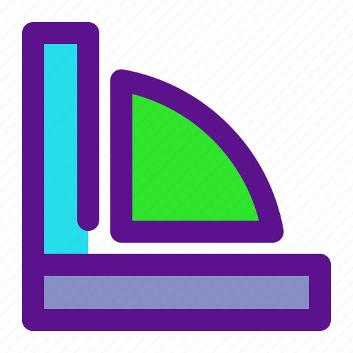 arrow, interaction, interface, measure, user icon