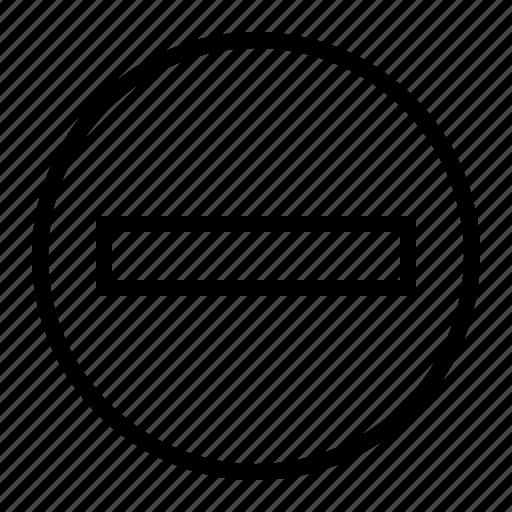 delete, document, minus, remove, report icon