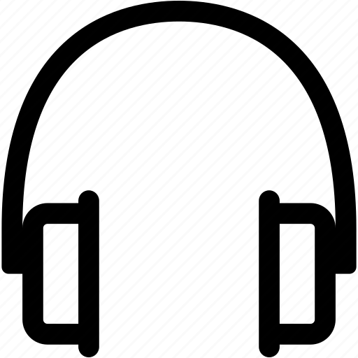 headphones, headset, hear, music, player, support icon