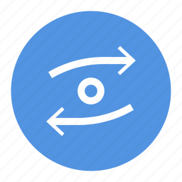 arrow, circle, left, right, ui, ux icon