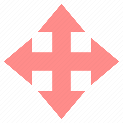 Arrow, arrows, down, left, right, up icon - Download on Iconfinder