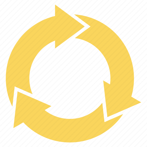 Arrow, arrows, cycle, recycle, rotation icon - Download on Iconfinder