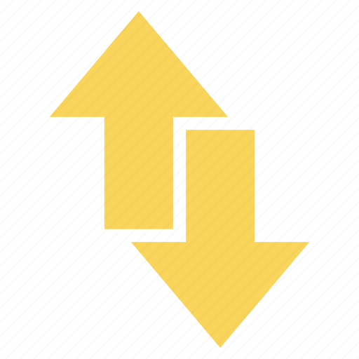 arrow, arrows, direction, down, nevigation, up icon