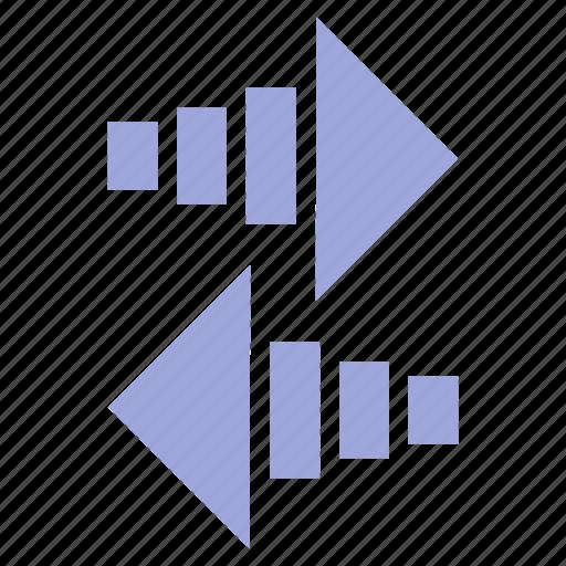 arrow, arrows, direction, left, right icon