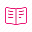 book, data, document, documents icon