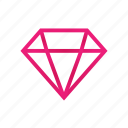 brilliant, diamond, discounts, stock icon