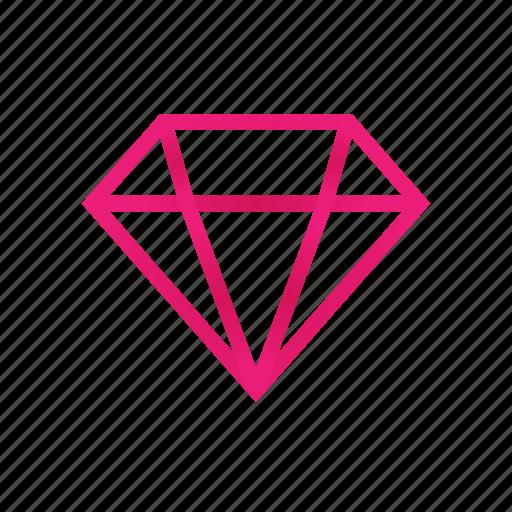 brilliant, diamond, discounts, stock icon