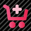 cart, design, device, interface, mobile, ui, website icon