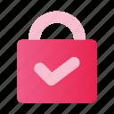 design, device, interface, lock, mobile, ui, website icon