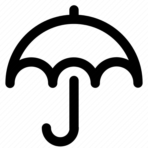 Climate, forecast, protection, rain, sun, umbrella, weather icon - Download on Iconfinder