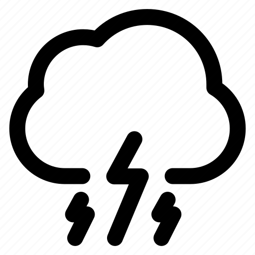 Climate, cloud, cloudy, forecast, rain, storm, weather icon - Download on Iconfinder