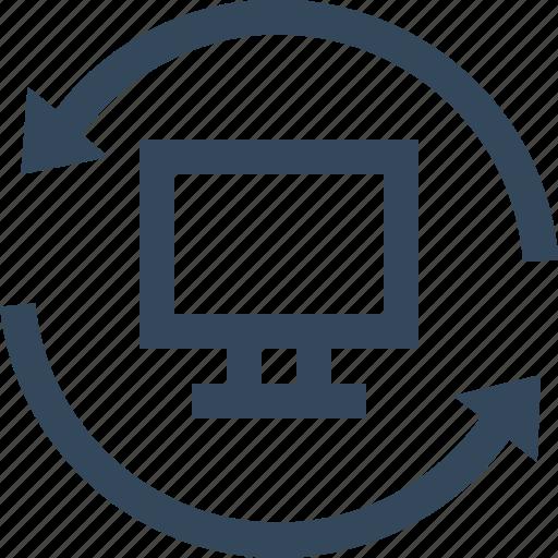 Computer, reset, reset computer icon - Download on Iconfinder