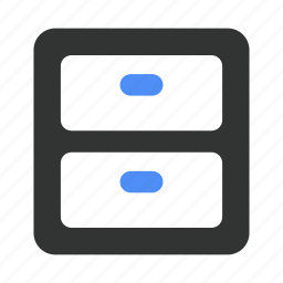 box, cabinet, file, filing, office, outbox icon