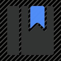 book, bookmark, books, directory icon