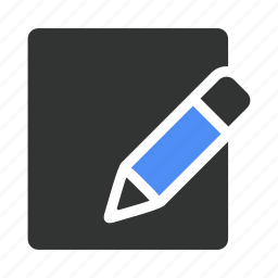 compose, document, documents, draw, drawing, edit, pen icon