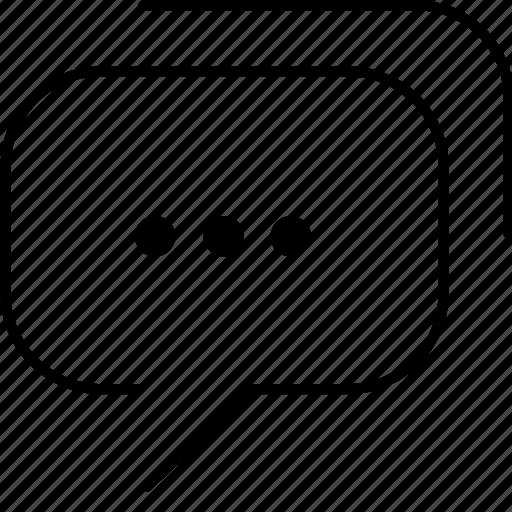 chat, chatting, talk icon