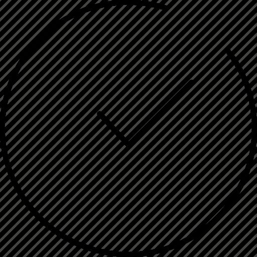 check, tick icon