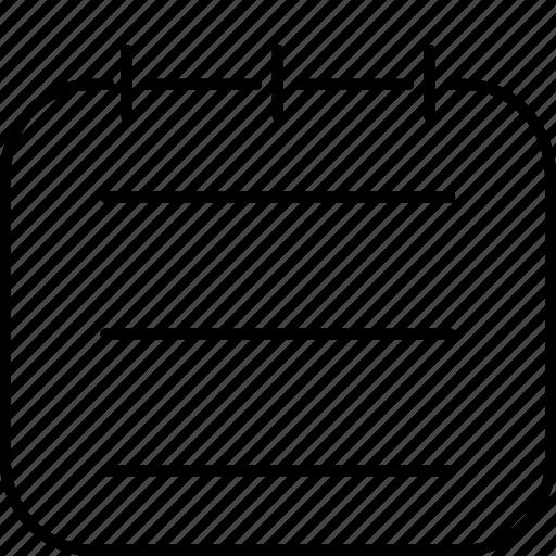 handbook, note, notebook icon