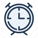 alarm, clock, time, ui, ux, watch icon