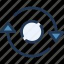 arrow, refresh, reload, ui, ux icon