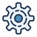 cog, cogwheel, gear, settings, ui, ux icon