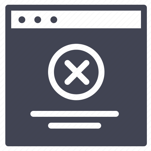 browser, cancel, checkmark, design, remove, ui, website icon