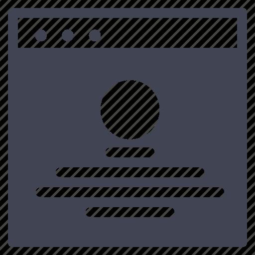 browser, design, main, round, ui, website icon