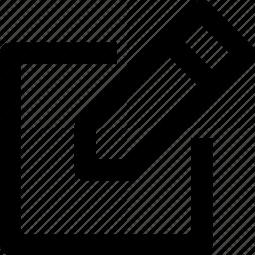 change, edit, pen, ui, write icon