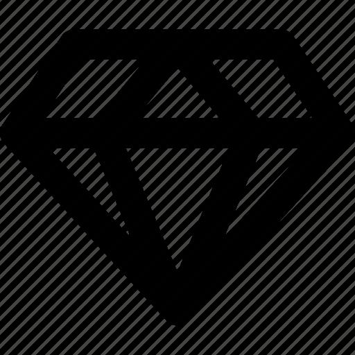 diamond, ui, value, vip icon