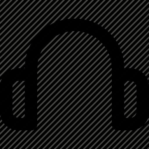 earphone, headphone, sound, ui icon