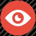 eye, human eye, search, view icon icon icon