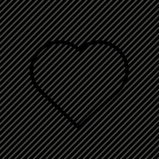 heavy, love, ui icon