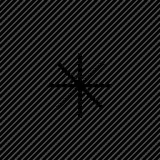 asterisk, heavy, ui icon