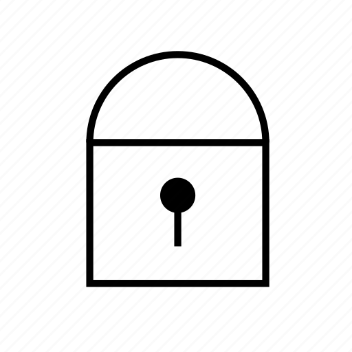 heavy, secure, solid, ui icon
