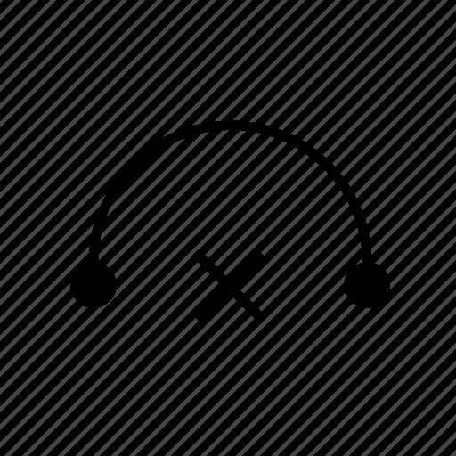 heavy, mute, solid, ui, volume icon
