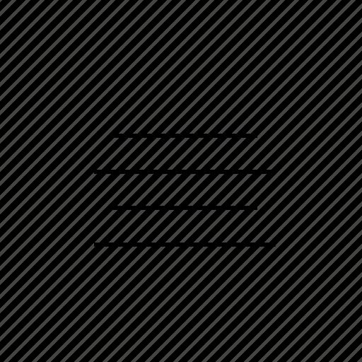 align, centre, light, ui icon