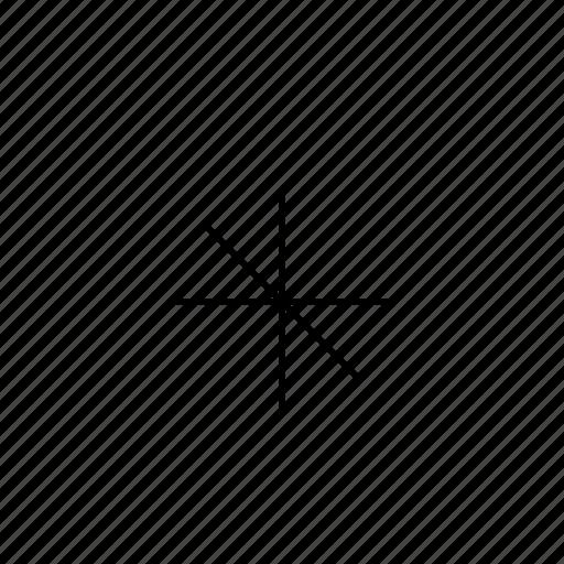 asterisk, light, ui icon
