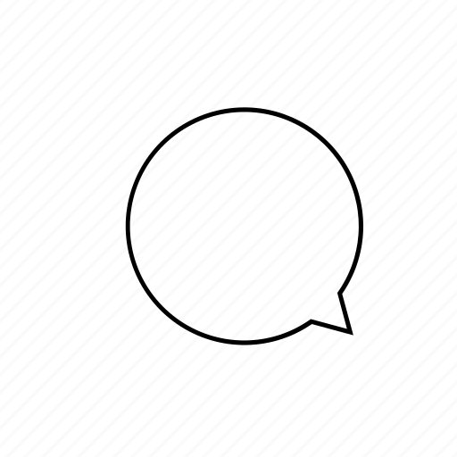 chat1, light, ui icon