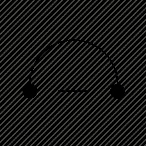 down, light, solid, ui, volume icon