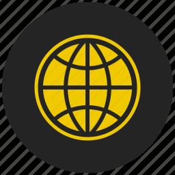 global, internet, mobile internet, planet, web, world, www icon
