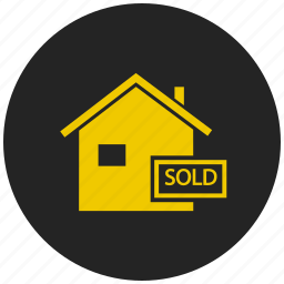 buy home, ecommerce, property, real estate, sell home, shopping market, shopping store icon
