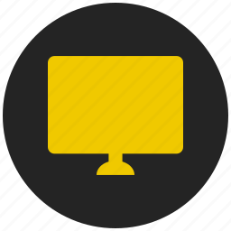 desktop, entertainment, lcd display, monitor, muslim, presentation, television icon