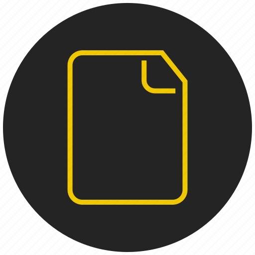 document, file, page, paper, sheet, text document, text file icon