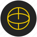 basket ball, game, sport, teared ball, tennis ball icon