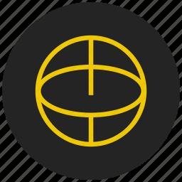 basket ball, game, sport, teared ball, tennis ball icon