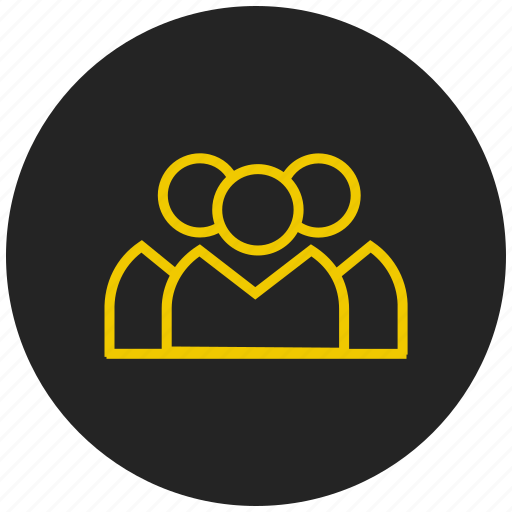 brainstorm, connection, contacts, discussion, group, network icon